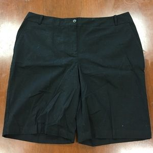 Talbots Shorts - Black shorts